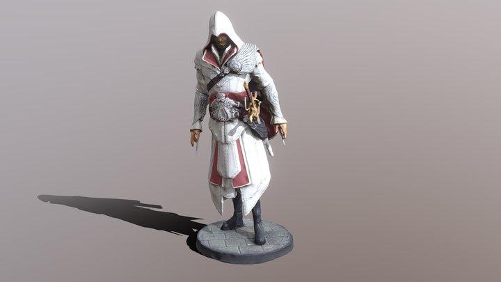 Ezio Auditore Figurine 3D Model