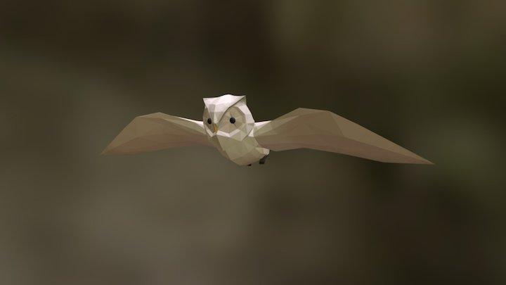 Owl Base Prototype 3D Model