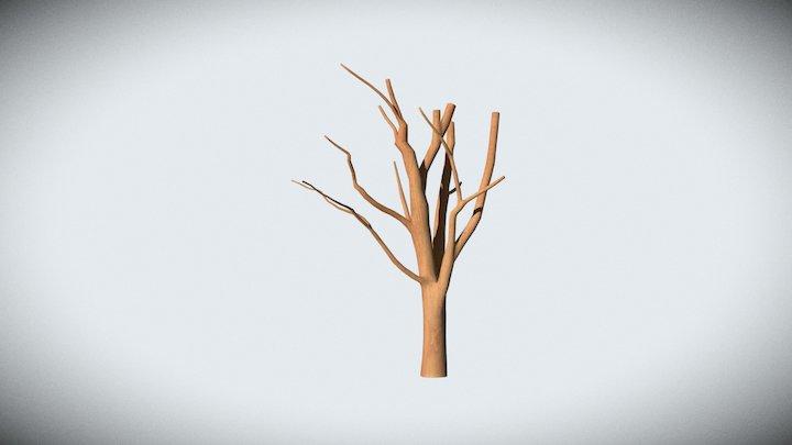 Decorative Tree - 1 3D Model