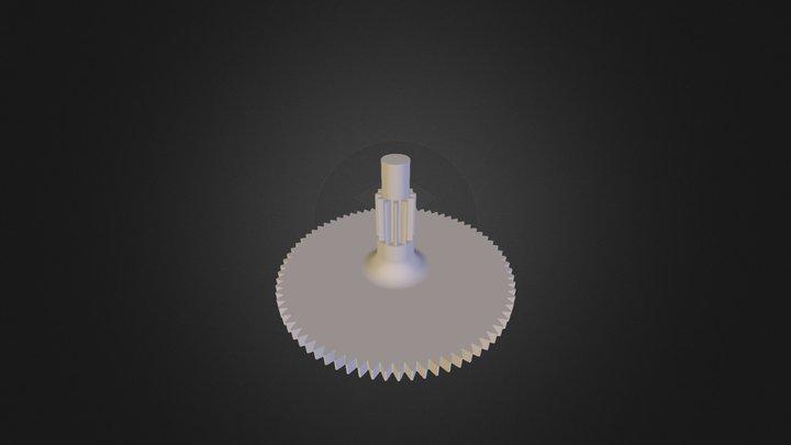 roue_bazin2 3D Model