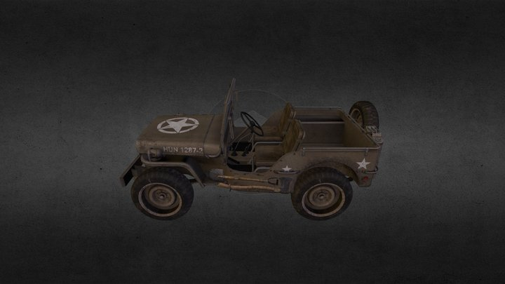 willys_jeep 3D Model