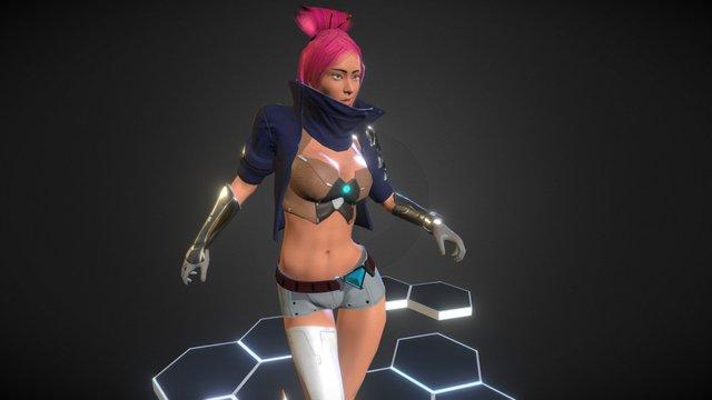 """""""Yoori"""" 3D Model"""