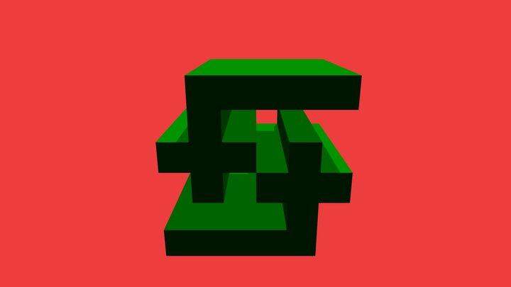 Smol Retweets Rep 3D Model