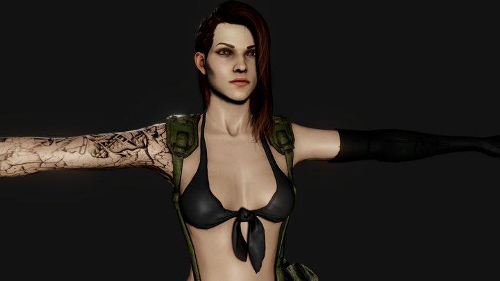 ShellyMGS 3D Model