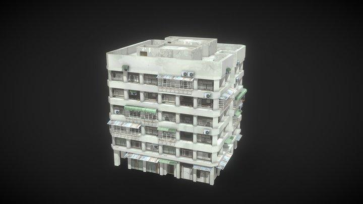 Asia Building 3D Model