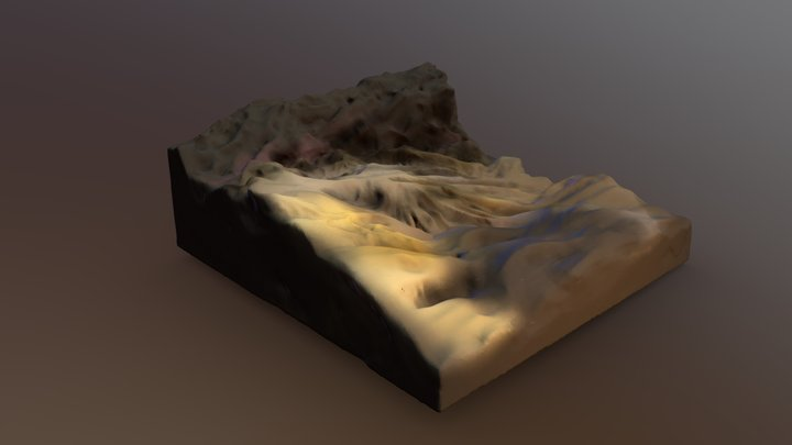 Death Valley 3D Model