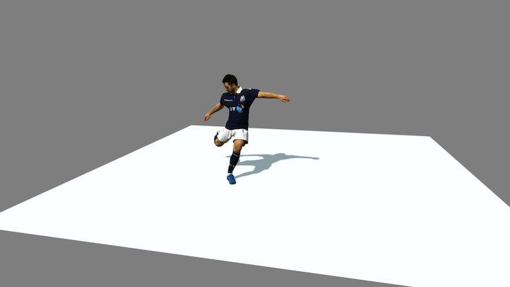 Greig Laidlaw - Drop Kick 3D Model
