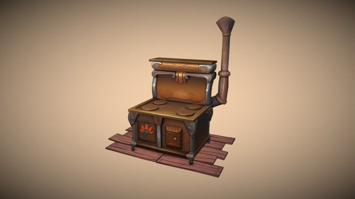 The boogie cooker 3D Model