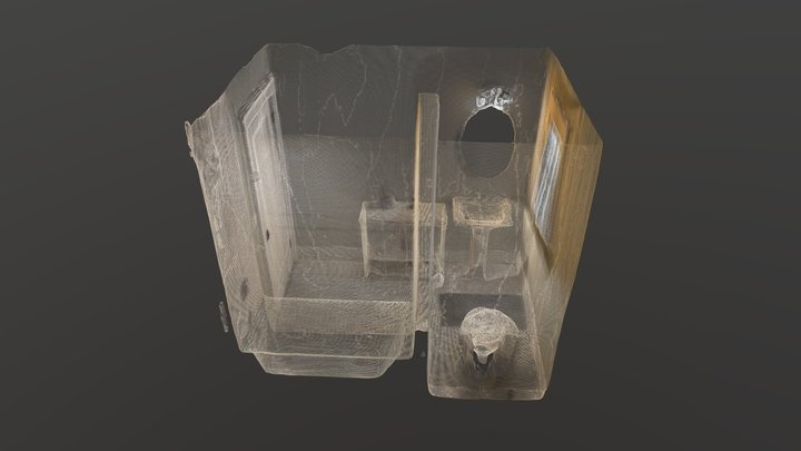 Room scan 3D point cloud 3D Model