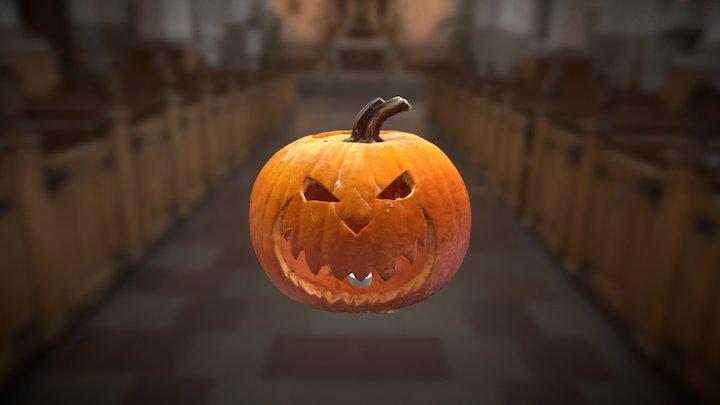Philipps Halloween Pumpkin 3D Model