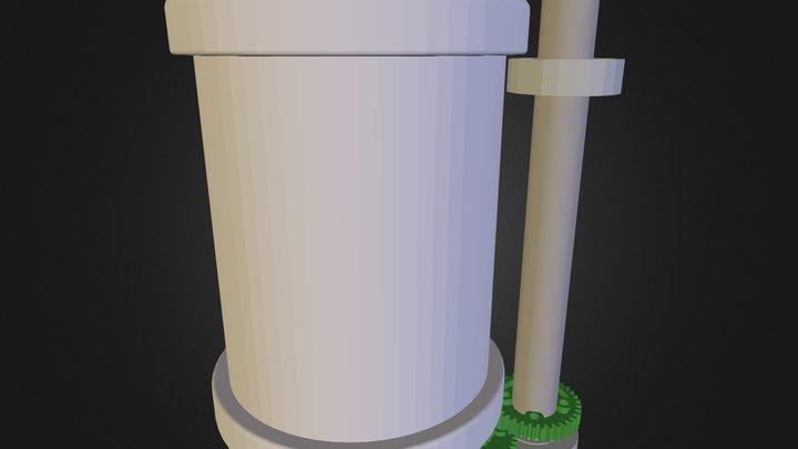 Motore P A R K E R 3D Model