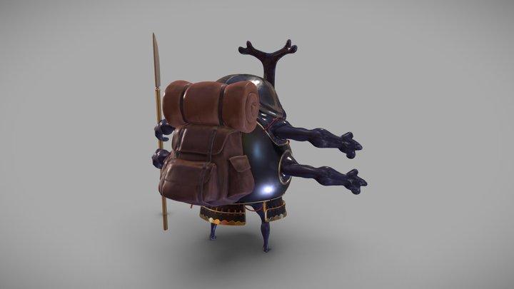 BeetleGuard 3D Model