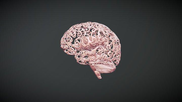 LotusBrain 3D Model