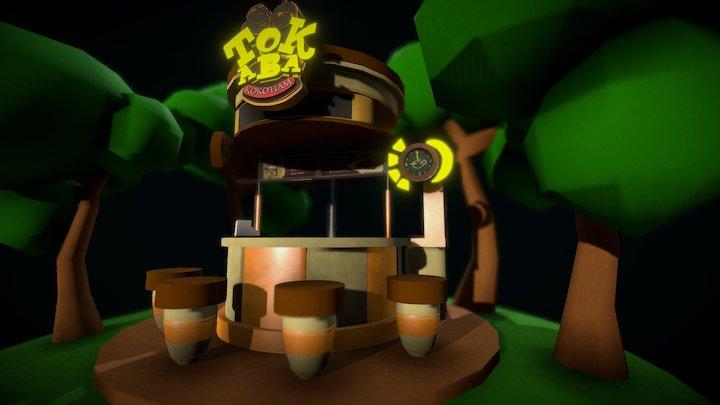 TokAba Shop (Boboiboy) 3D Model