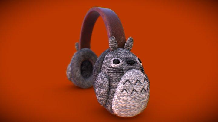 #3December #Day8 The Whisper of Totoro 3D Model
