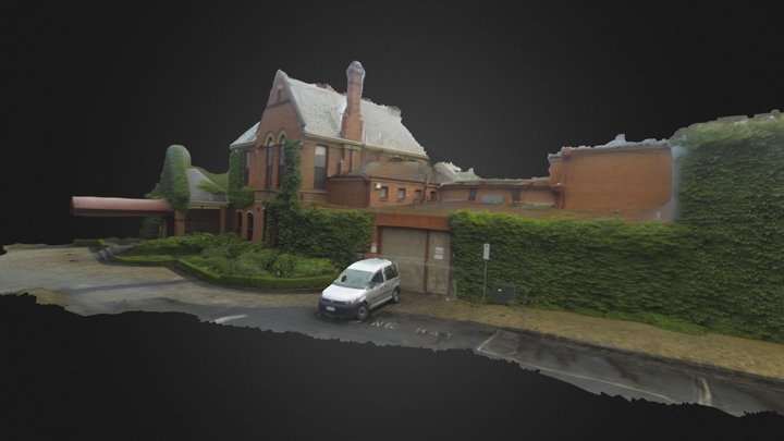 University House (GoPro test) 3D Model