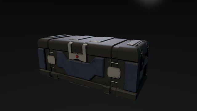Equipment Crate 3D Model