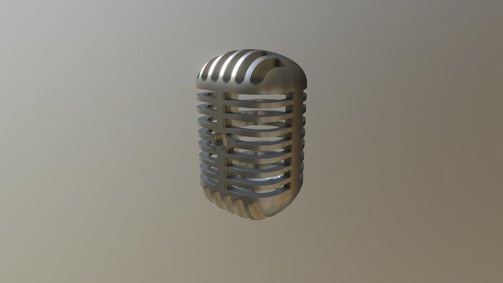 SFX Prop Mic 3D Model