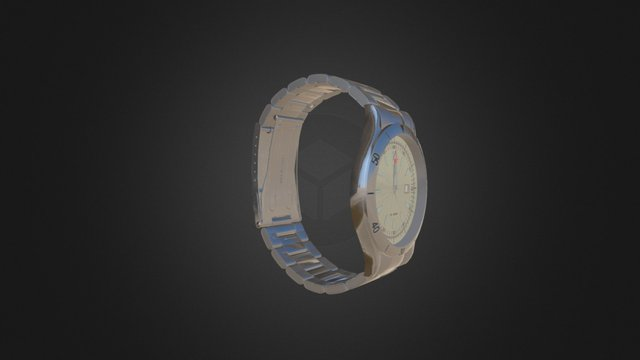 WATCH---Stainless Steel 3D Model