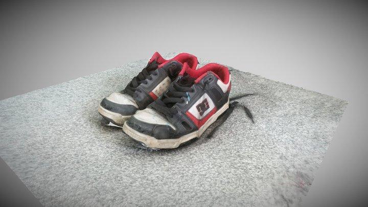 DC Shoe 3D Model