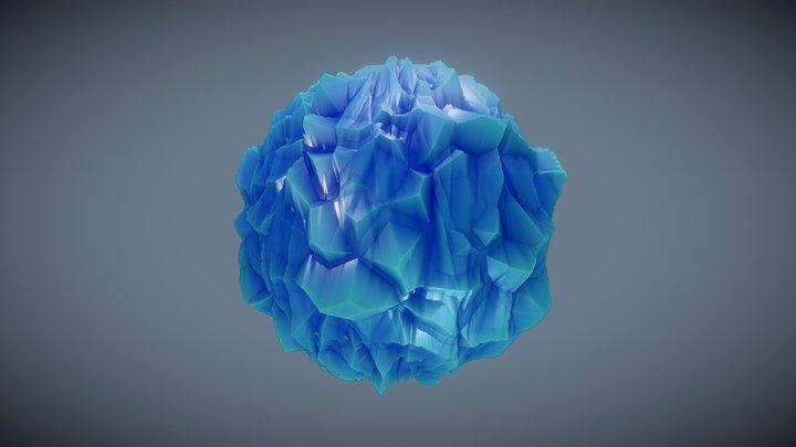 Stylized Ice 3D Model