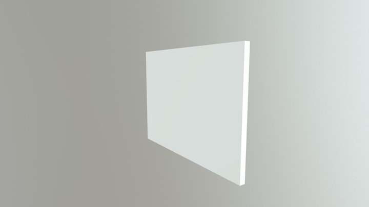 2.4 TFT BOX BACK 3D Model