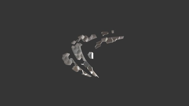 Procedural Logo 3D Model