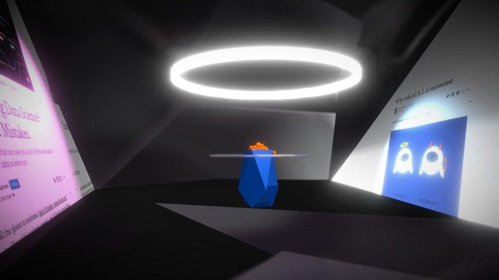 orange vRooML! 3D Model