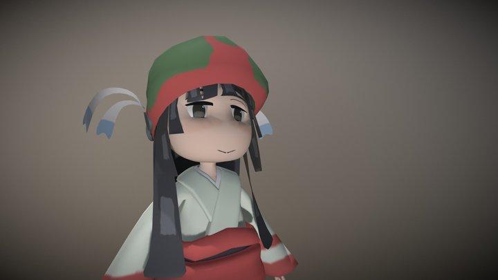 Mikochi 3D Model 3D Model