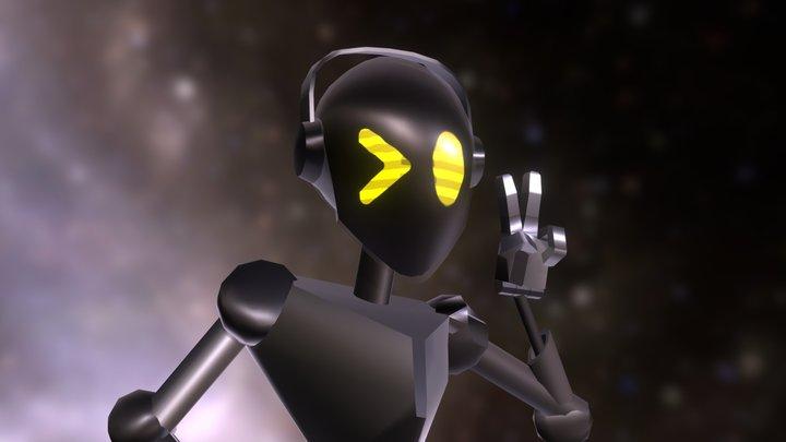 Transcendent Robot - Neon Demon 3D Model