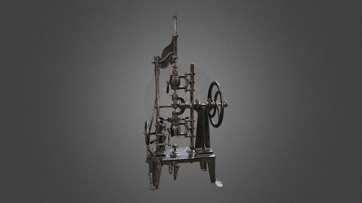 Machine à fabriquer les bouteilles 3D Model