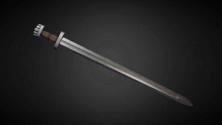 """Viking """"Ulfberht"""" Sword 3D Model"""