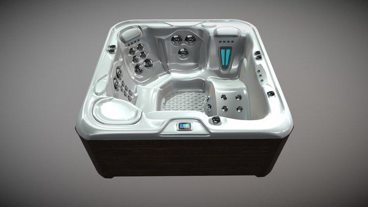 jacuzzi bath Tub 3D Model