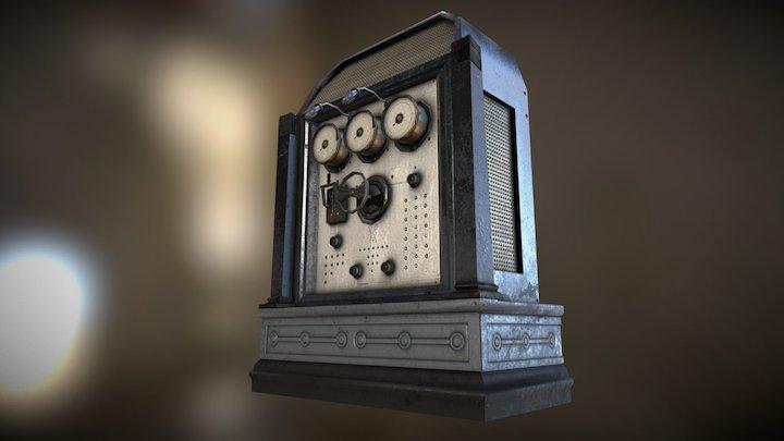 Opulent Control Terminal (Metal Version) 3D Model