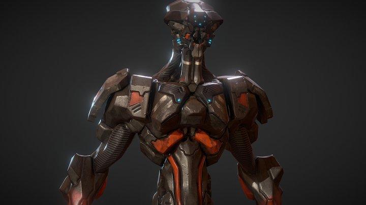 ZBrush for Concept - Mech Design D.ver 3D Model