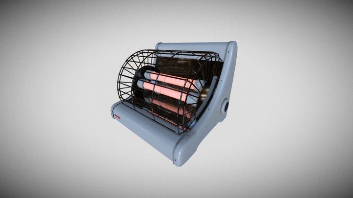 Bar Heater 3D Model