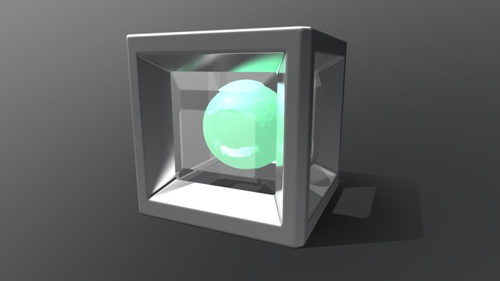 Generic Energy Sphere 3D Model
