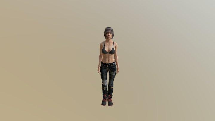 Old Grunge Chic 3D Model