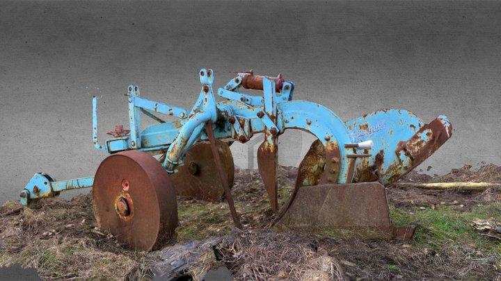 Vecchio aratro. 3D Model