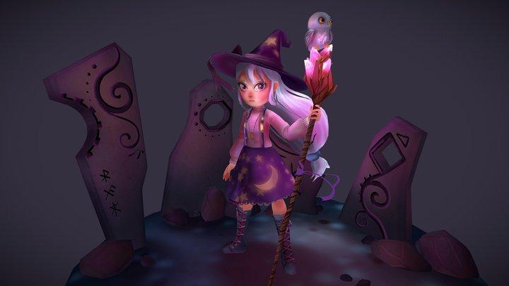 Witch Runes 3D Model