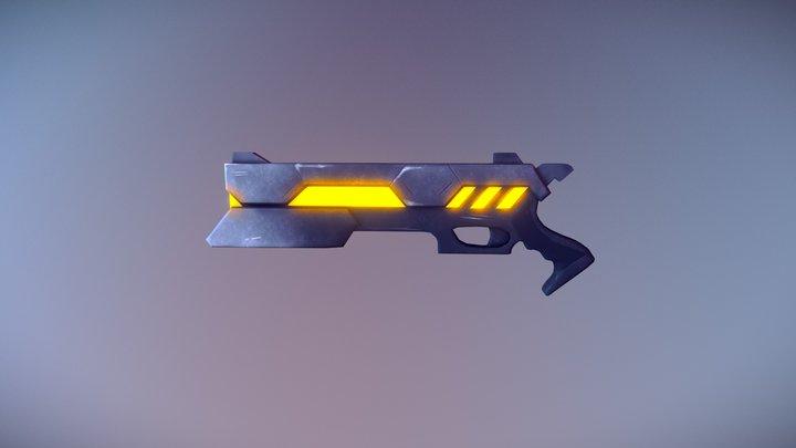 Project Lucian Gun- League Of Legends 3D Model