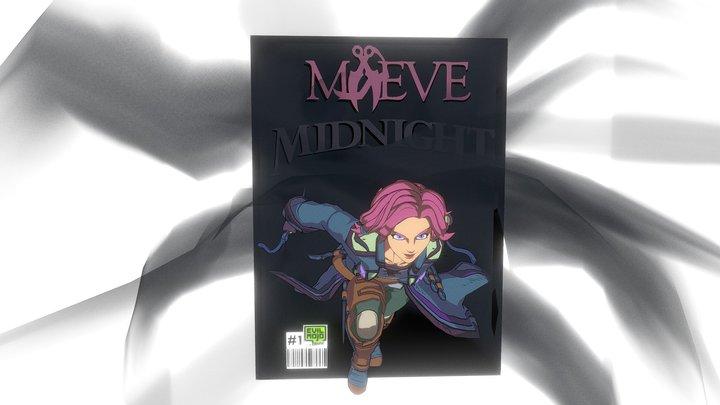 Maeve #1 Cover [Maeve   Paladins] 3D Model