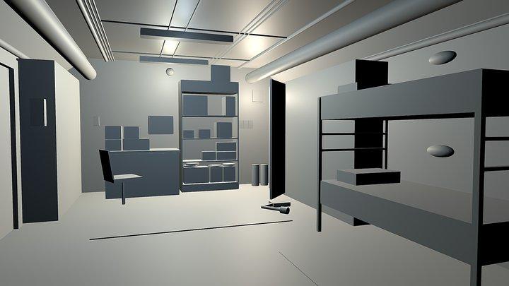 Block Layout 3D Model