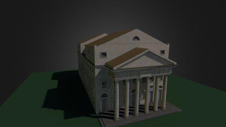 Teatro Nuevo en 1850. Alicante (Spain) 3D Model