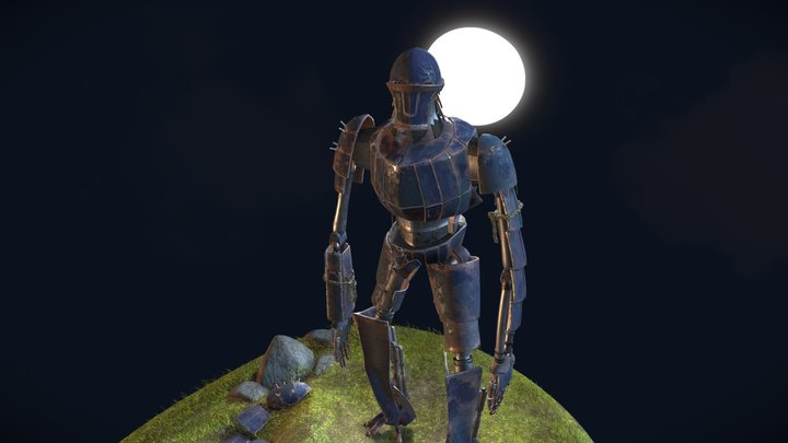 Ancient Mech 3D Model