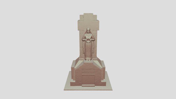 Paminklas žuvusiems už Lietuvos Nepriklausomybę 3D Model