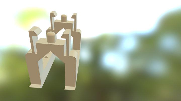 handout for Micro servo GWS NARO+F HP BB 3D Model