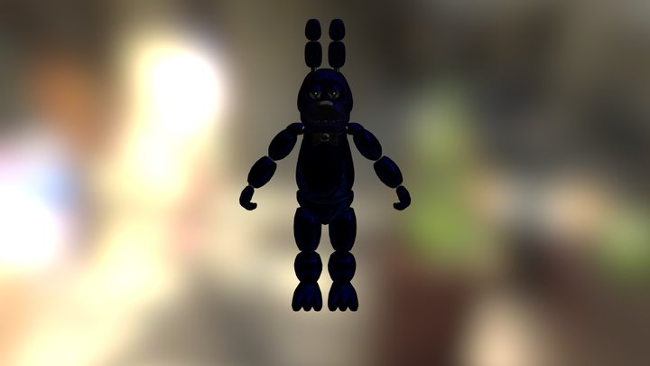 Shadow Bonnie 1.0 3D Model
