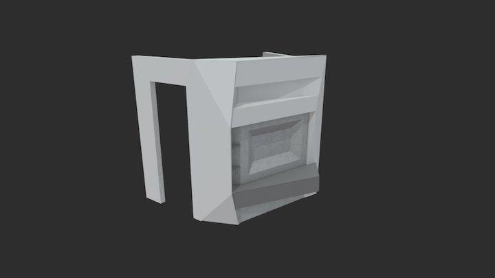 Wall_3d_Edge 3D Model