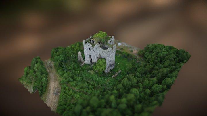 Abandoned Almond Castle 3D Model